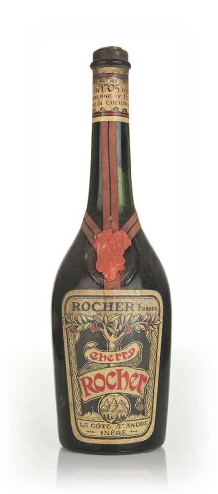 Rocher Cherry Brandy - 1950s