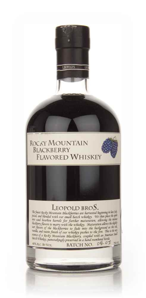 Rocky Mountain Blackberry Flavored Whiskey 75cl