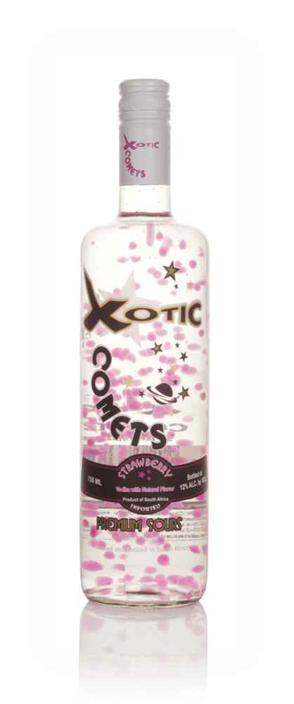 Xotic Comets Strawberry Sour
