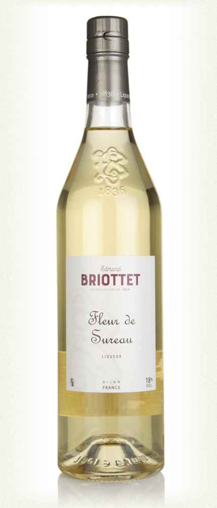 Edmond Briottet Fleur de Sureau (Elderflower Liqueur)