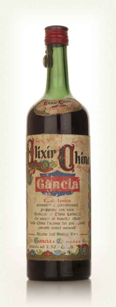Gancia Elixir China 1949-59
