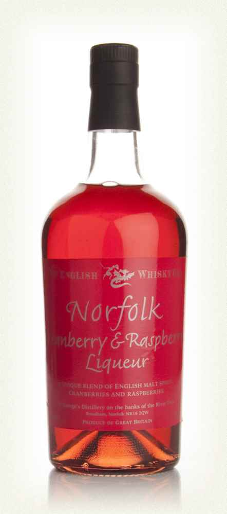Norfolk Cranberry and Raspberry Liqueur