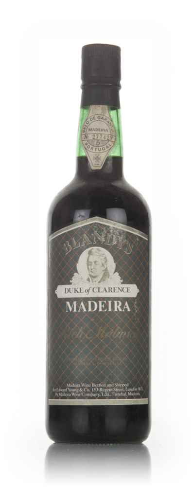 Blandy's Duke of Clarence Madeira - 1980s