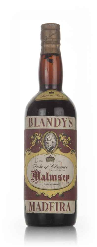 Blandy's Duke of Clarence Malmsey Madeira - 1960s