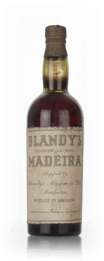 Blandy's Superior Old (Rich) Madeira - 1950s