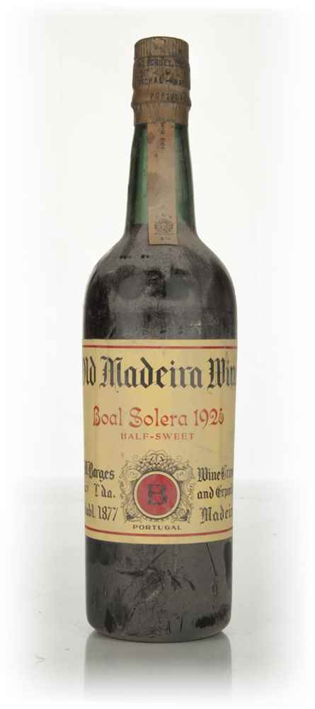Borges Half-Sweet Madeira - 1960s