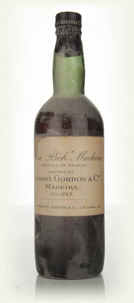 Cossart, Gordon and Co Madeira - 1950s
