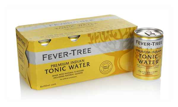 Fever-Tree Indian Tonic Water Fridge Pack (8 x 150ml)