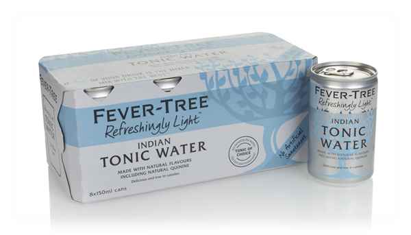 Fever-Tree Refreshingly Light Indian Tonic Water Fridge Pack (8 x 150ml)