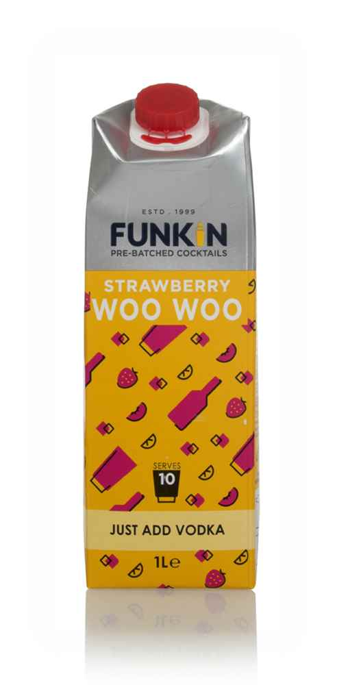 Funkin Strawberry Woo Woo Cocktail Mixer