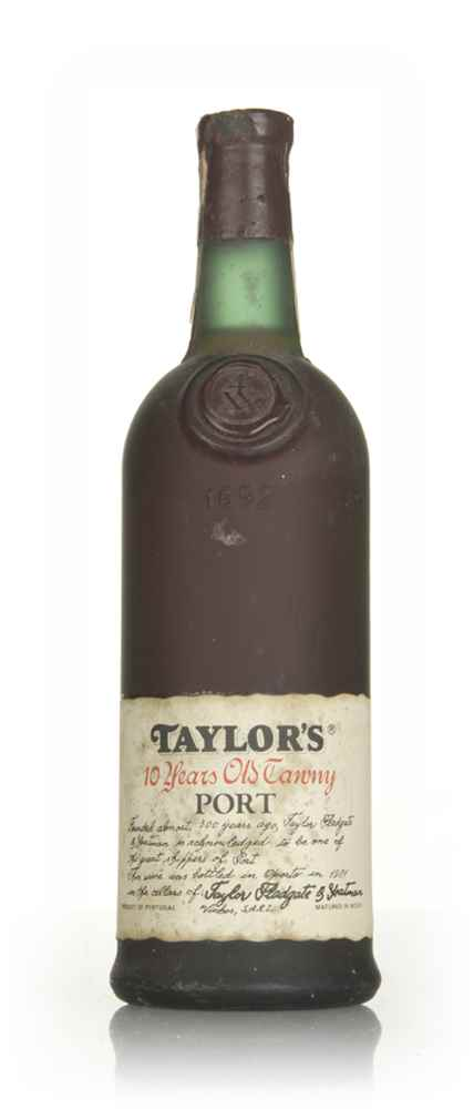 Taylor's 10 Year Old Tawny Port - 1981