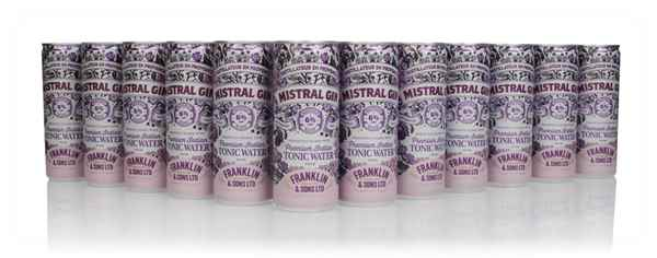 Mistral Gin & Tonic (12 x 250ml)