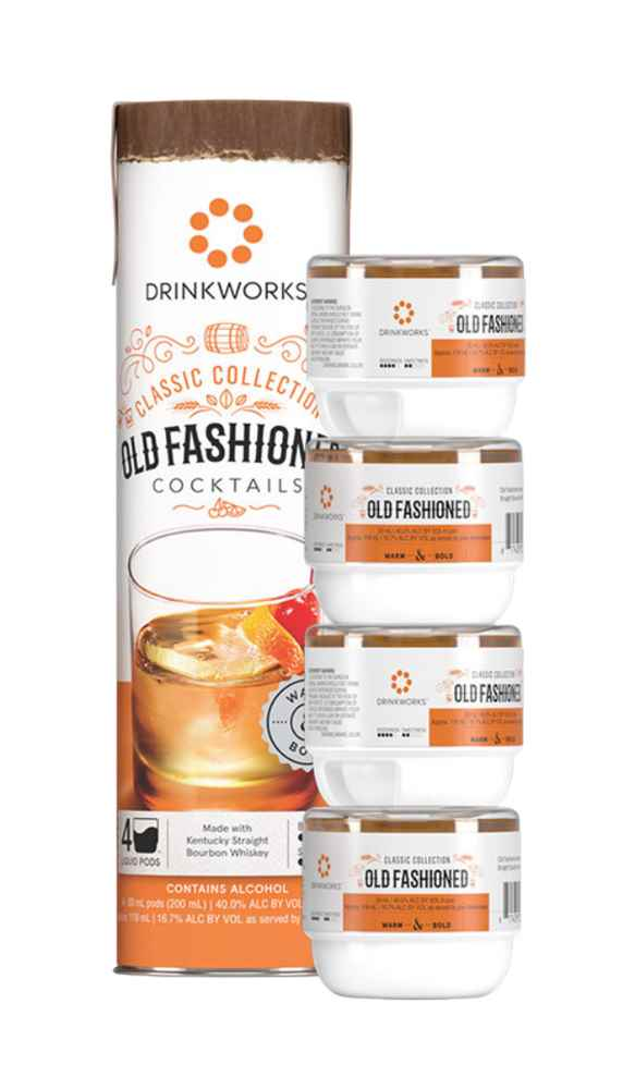 Drinkworks Old Fashioned Tube (4x Pods)