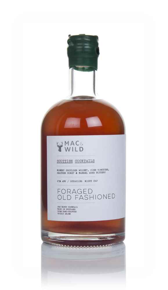Mac & Wild Foraged Old Fashioned