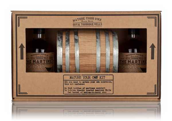Mature Your Own Cocktail Kit - Martinez