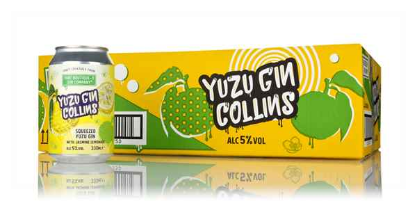That Boutique-y Gin Company Yuzu Gin Collins (24 x 330ml)