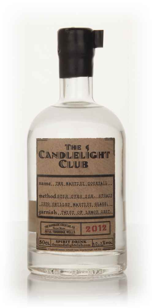 The Martini Cocktail - The CandleLight Club 50cl