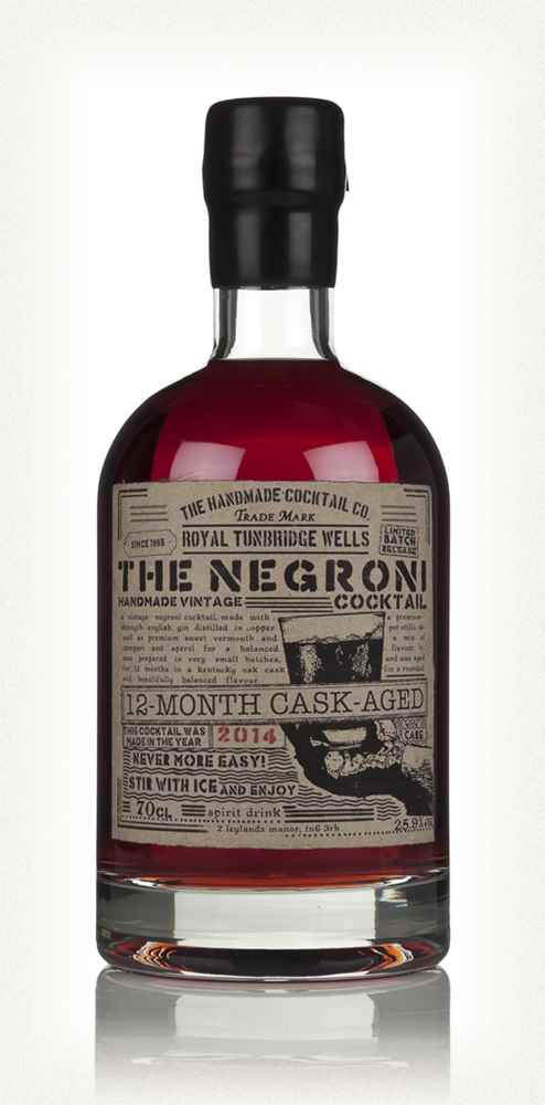 Cask-Aged Negroni Cocktail 2014 (12 Months)