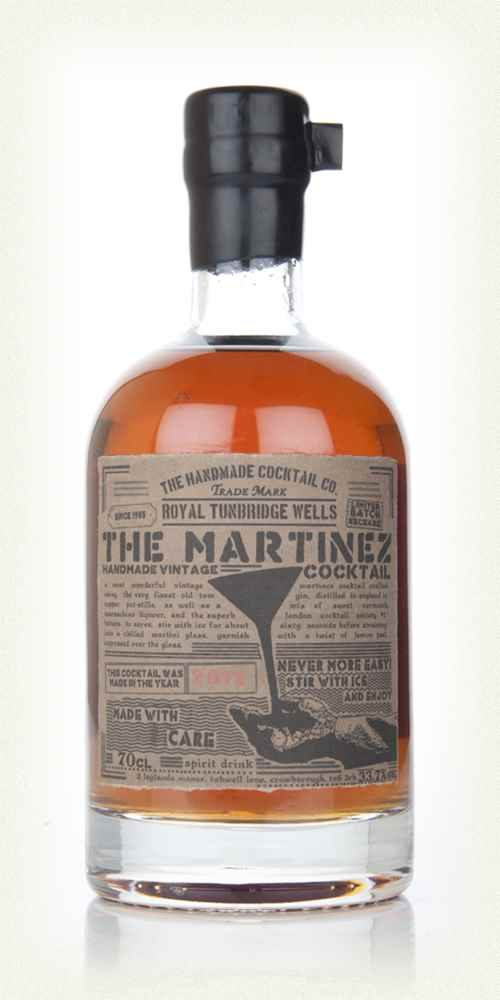 The Martinez Cocktail 2012