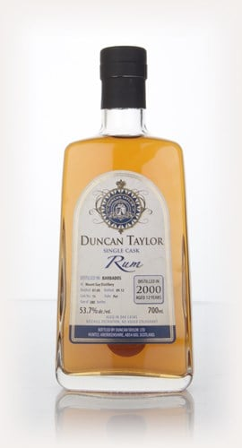 Mount Gay 12 Year Old 2000 Rum (cask 15) (Duncan Taylor)
