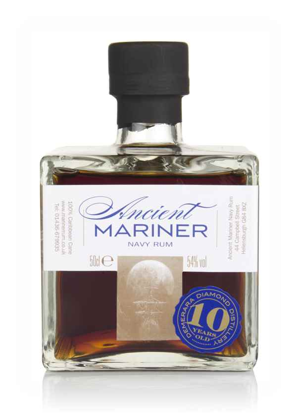 Ancient Mariner 10 Year Old Navy Rum (2018 Edition)