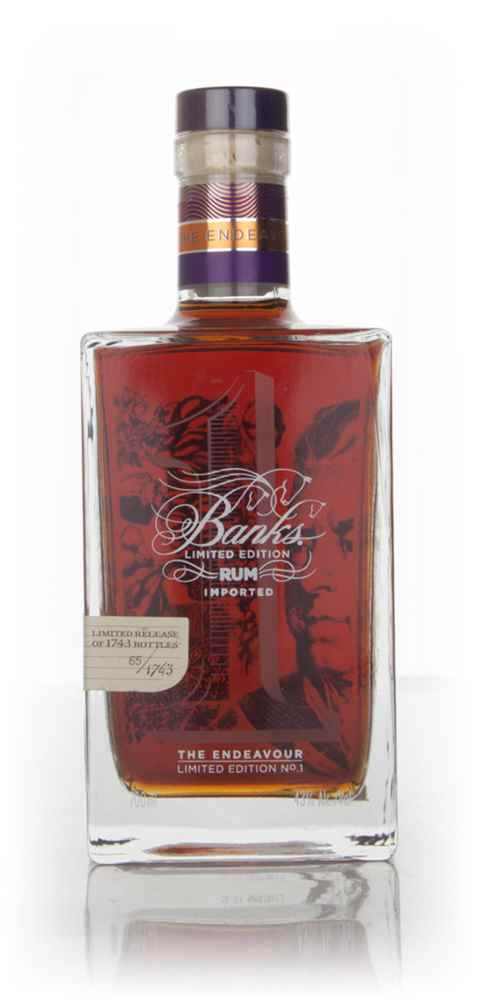 Banks The Endeavour - Limited Edition No.1 - 16 Year Old 1996 Rum