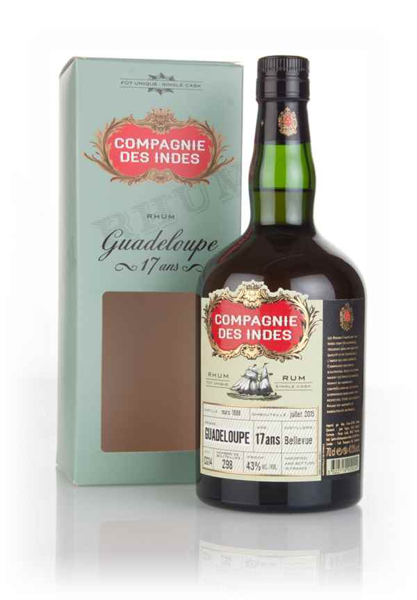 Bellevue 17 Year Old 1998 - Guadeloupe Rum (Compagnie des Indes)