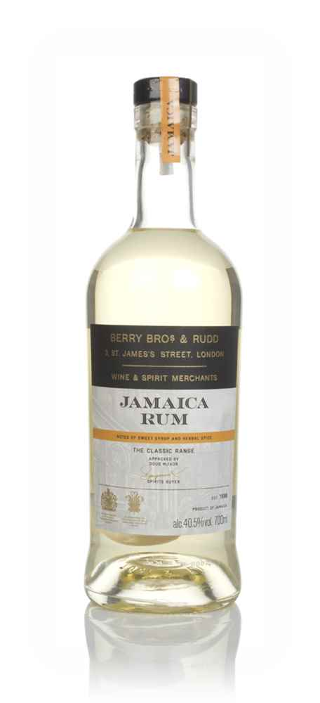 Berry Bros. & Rudd Jamaica - The Classic Rum Range