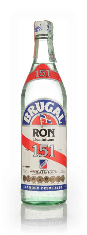 Brugal Ron Blanco 151 - 1980s