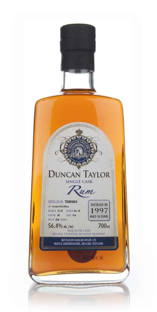 Caroni 16 Year Old 1997 (cask 49) - Single Cask Rum (Duncan Taylor)