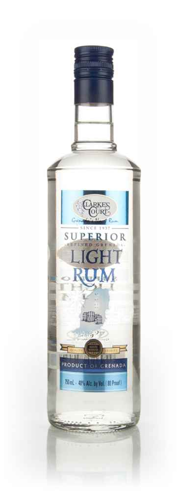 Clarkes Court Superior Light Rum