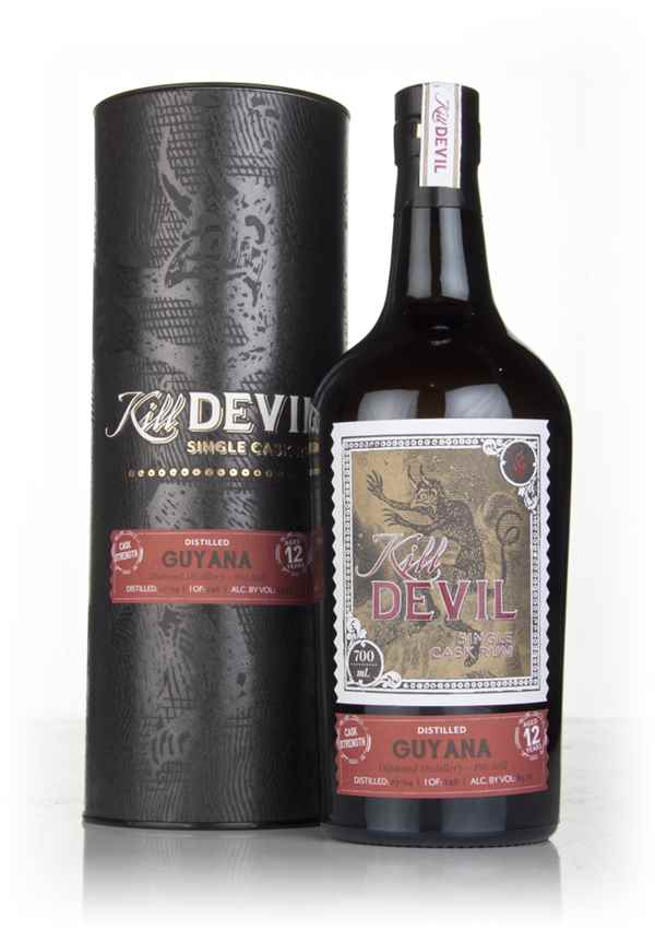 Diamond 12 Year Old 2004 Guyanese Rum - Kill Devil (Hunter Laing)