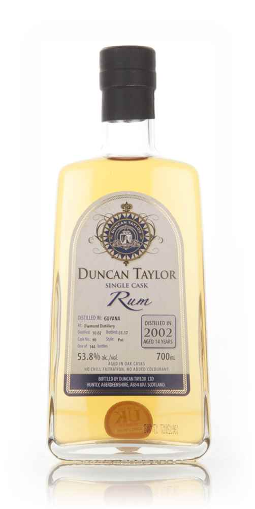 Diamond 14 Year Old 2002 (cask 90) - Single Cask Rum (Duncan Taylor)