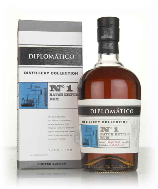Diplomático No.1 Batch Kettle Rum - Distillery Collection