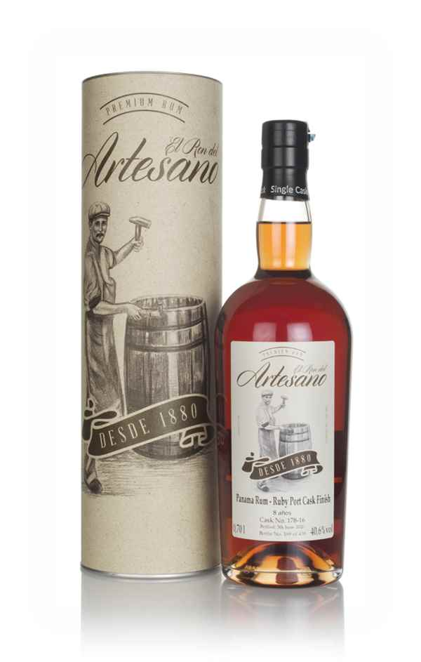 El Ron del Artesano 8 Year Old - Ruby Port Finish