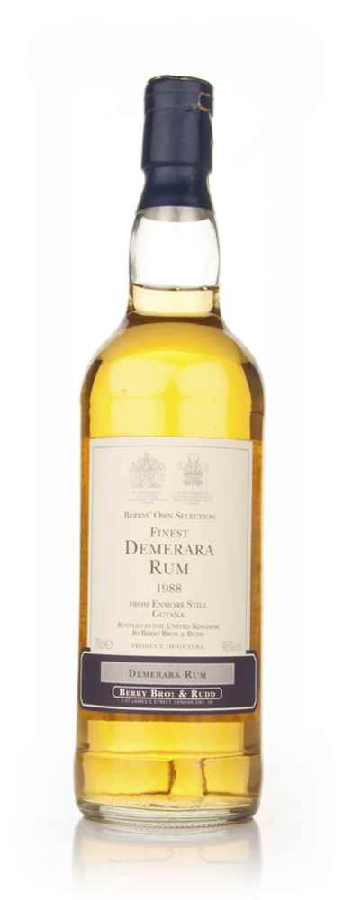 Enmore Still 19 Year Old 1988 Demerara Rum (Berry Bros. & Rudd)