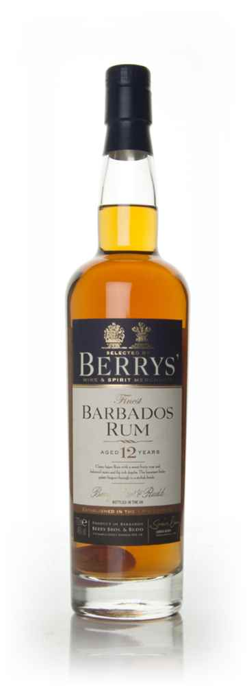 Barbados Rum 12 Year Old 1998 (Berry Bros. & Rudd)
