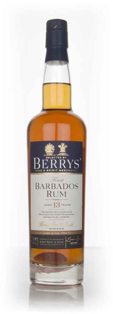 Barbados Rum 13 Year Old 1998 (Berry Bros. & Rudd)