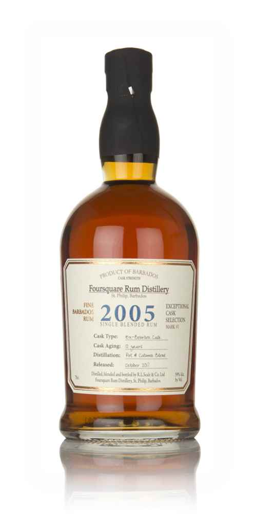Foursquare 12 Year Old 2005 - Exceptional Cask Selection