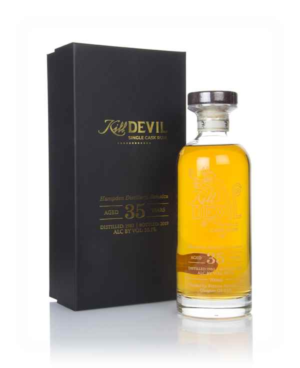 Hampden 35 Year Old 1983 Jamaican Rum - Kill Devil (Hunter Laing)