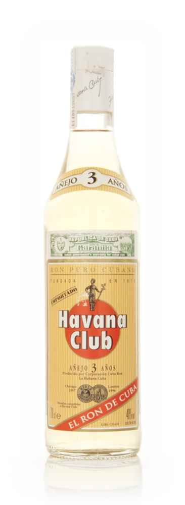 Havana Club 3 Year Old Anjeo - 1990s