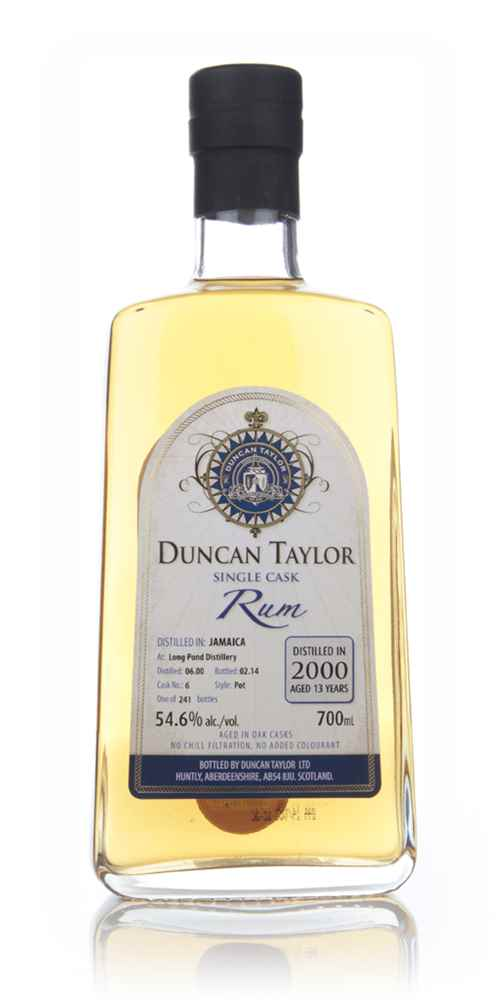 Long Pond Distillery 13 Year Old 2000 (cask 6) - Single Cask Rum (Duncan Taylor)