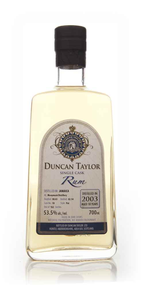 Monymusk 10 Year Old 2003 (cask 18) - Single Cask Rum (Duncan Taylor)