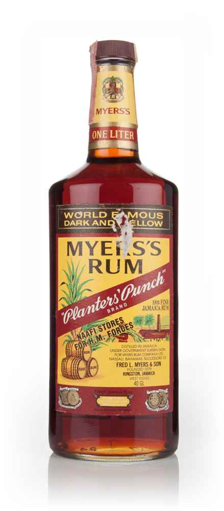 Myers's Planters Punch Rum - 1984