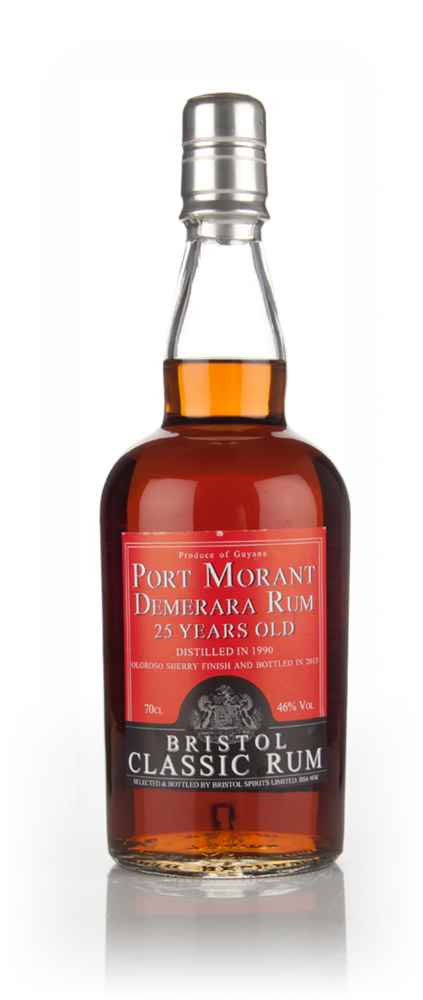 Port Morant 25 Year Old 1990 Oloroso Sherry Cask Finish (Bristol Spirits)