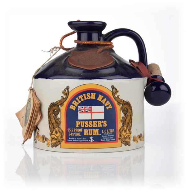 Pusser's British Navy Rum Flagon - 1979