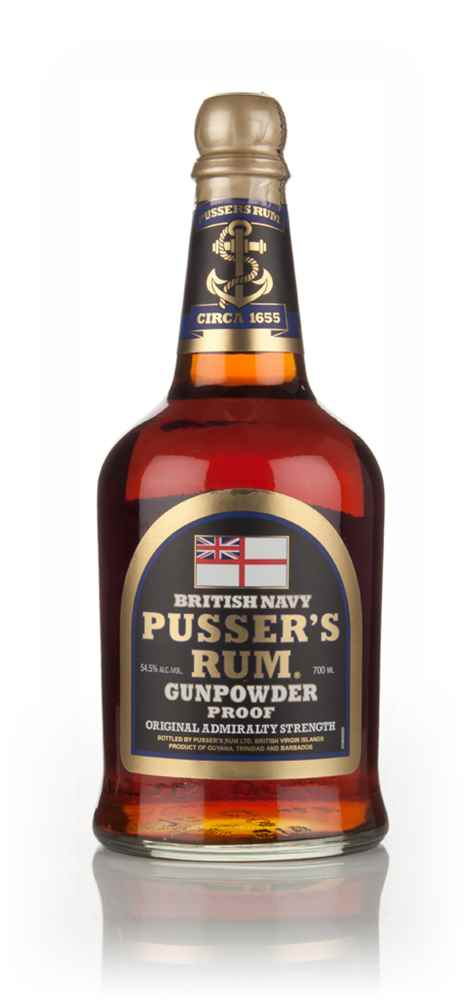 Pusser's 'Gunpowder Proof' Black Label