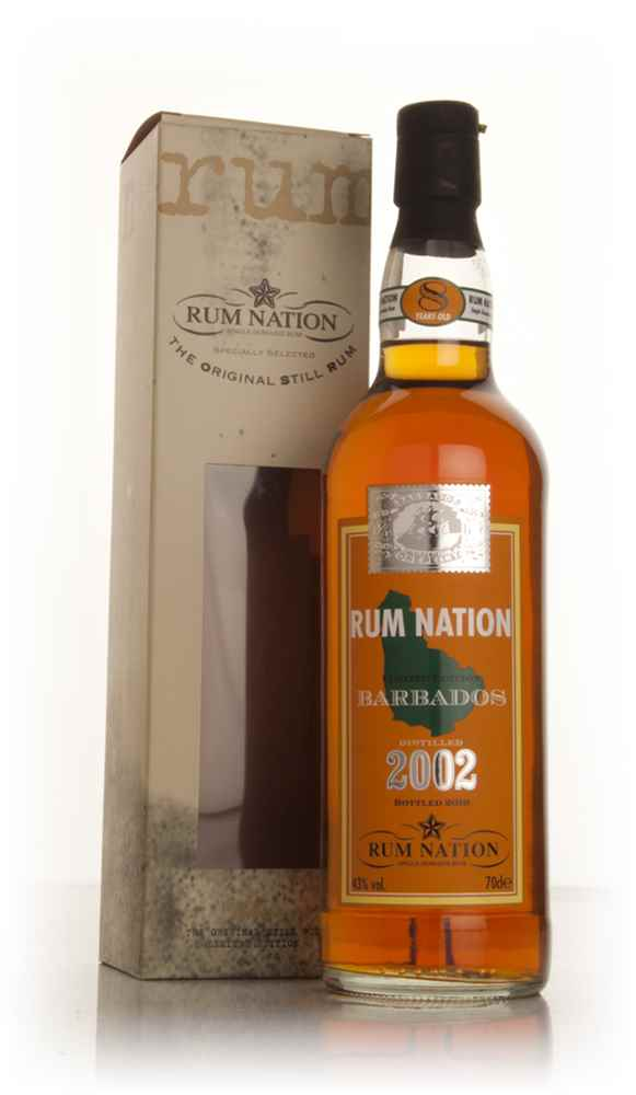 Rum Nation Barbados 8 Year Old 2002