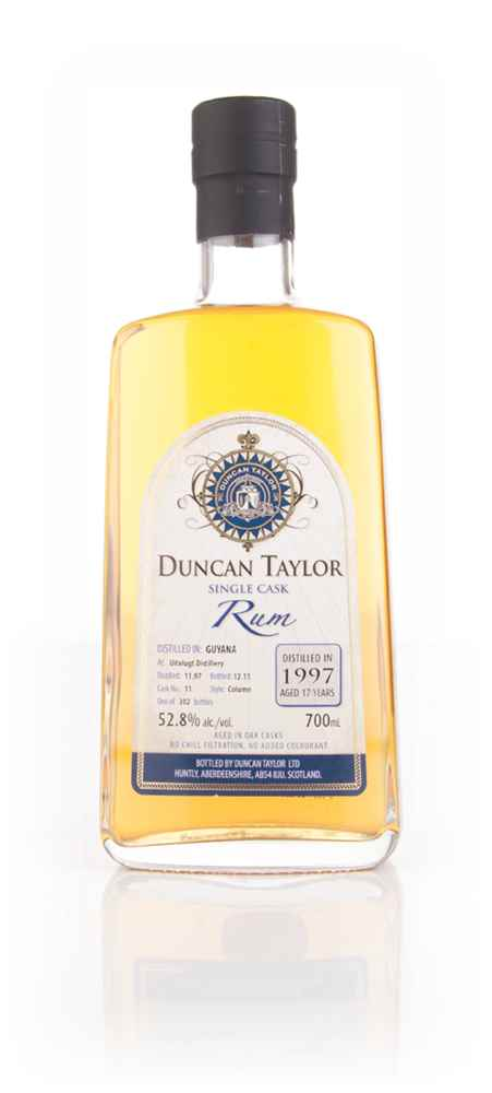 Uitvlugt 17 Year Old 1997 (cask 11) - Single Cask Rum (Duncan Taylor)