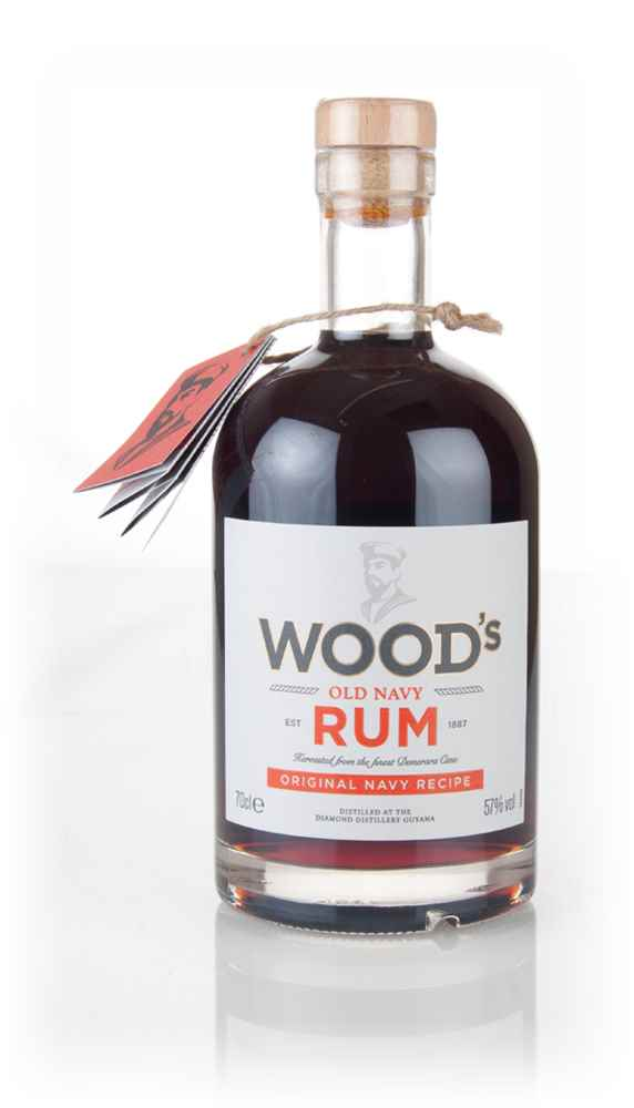 Wood's Old Navy Rum